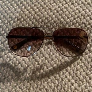 Juicy Couture : BLACK LABEL AVIATOR SUNGLASSES